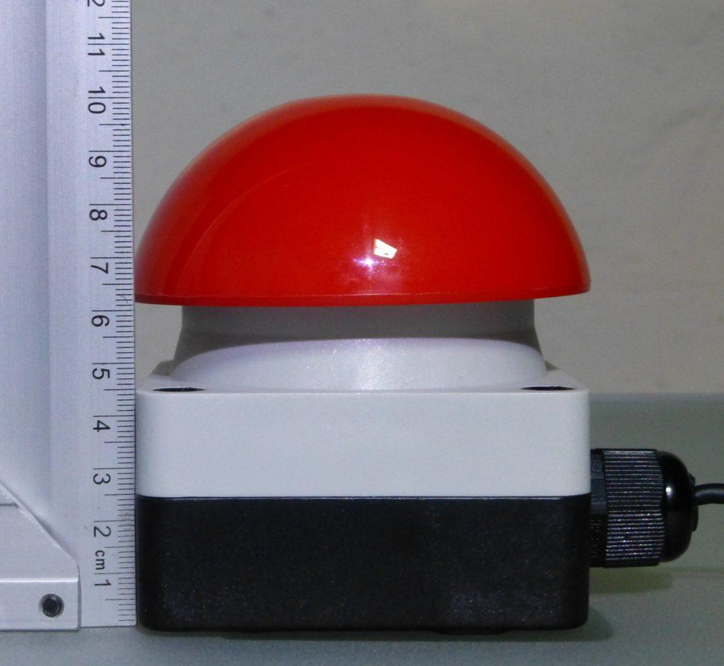 dimension side view (cm)